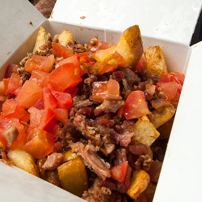 Our Unique Cheeseburger Poutine