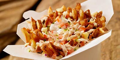 Try the Greek Poutine