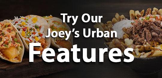 joeys urban coupons