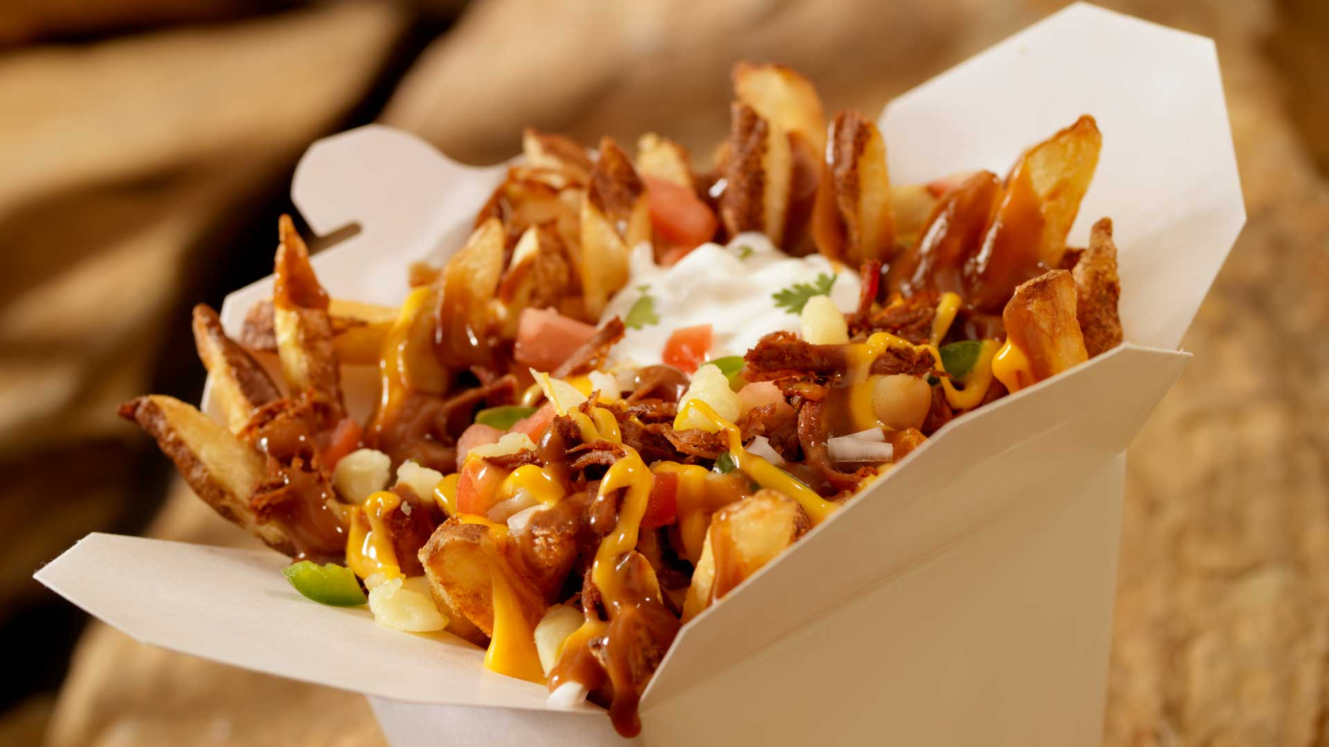 Our delicious Mexican Poutine